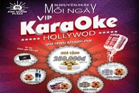 Chương trình Khuyễn mãi hấp dẫn tại khu Karaoke