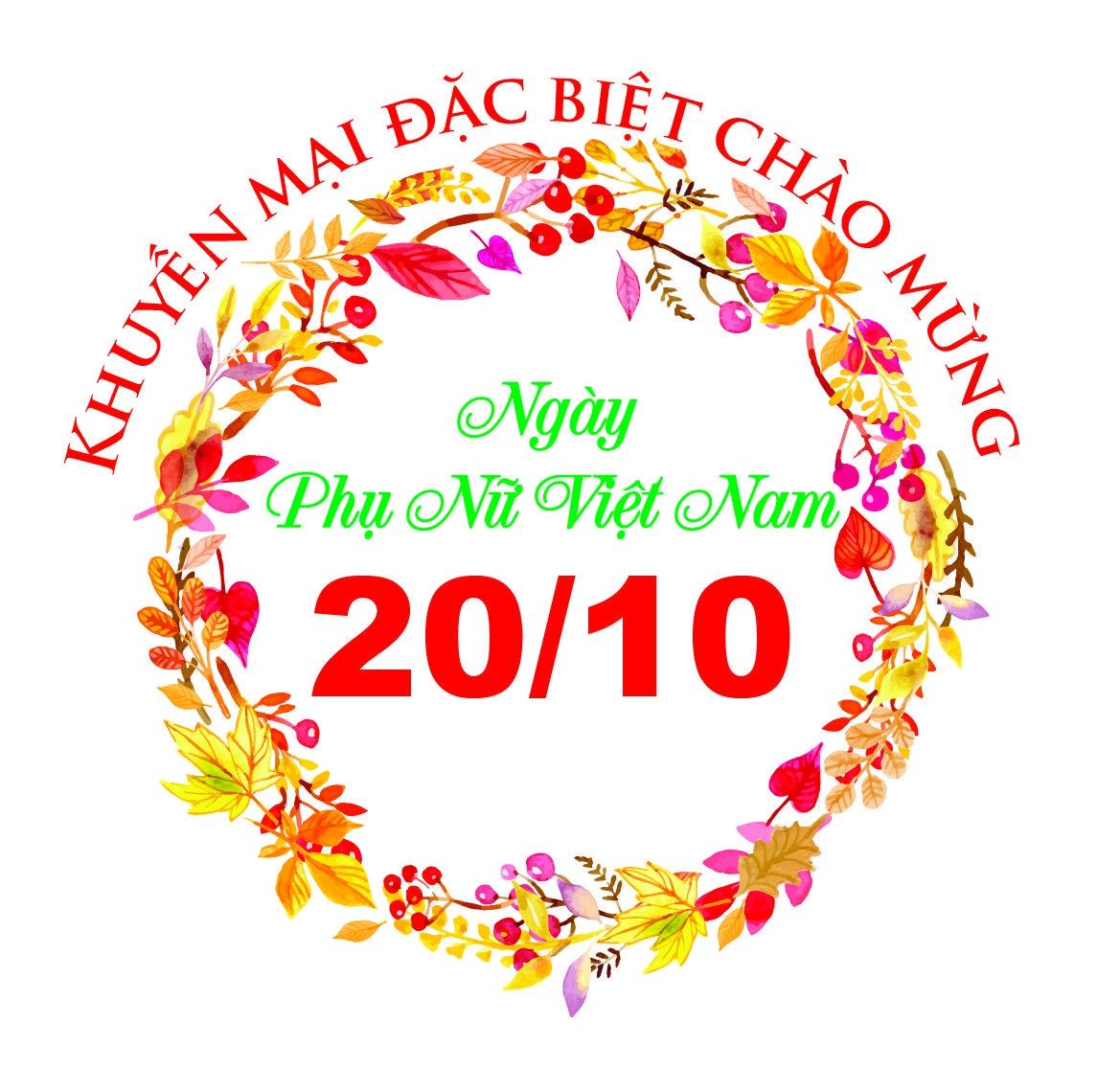 KHUYEN MAI DAC BIET CHAO MUNG 20/10