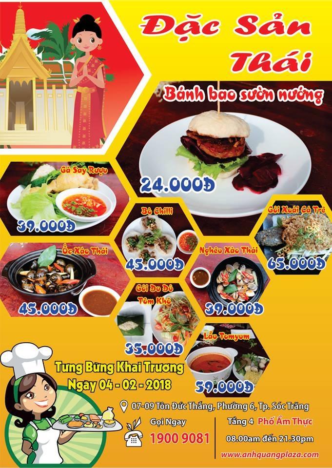 Nhiều món mới Nhà Hàng Thái Lan